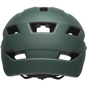 Bell Sidetrack Helmet Children matte dark green/orange